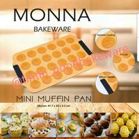Jual Mini Muffin Pan 24 Cups Monna Murah