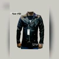 Jaket Semi Kulit Model Rock N Roll/Jaket Ramones/Jaket Ramones Rock N