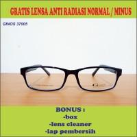 FRAME KACAMATA ANAK GINOS 37005 FREE LENSA ANTI RADIASI NORMAL/ MINUS