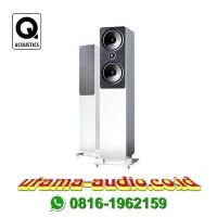 Q Acoustics 2050 speaker floor standing gloss white