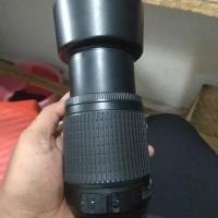 Lensa tele nikon 55-200mm
