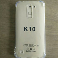 TPU Anti Crack Case for LG K10 / Casing Cover HP