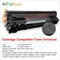 Toner Cartridge Compatible HP 35a Cb435a Printer p1005 p1006