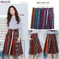 DULCE CULLOTE - Celana Batik Pendek Wanita / Kulot Batik