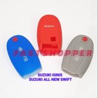 Sarung Kondom Silicon Pelindung Alarm Kunci Mobil Suzuki All New Swift