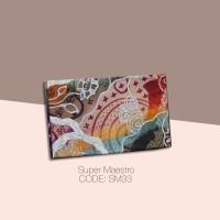 Kain Batik Tulis Solo Abstrak Super Maestro Kode SM33