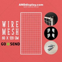 WIRE MESS 60*120 + H5 WALL KAWAT RAM DISPLAY MINIMARKET AKSESORIS