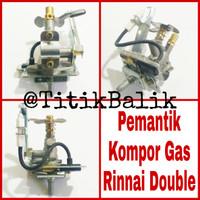 Mesin Pemantik Kompor Gas Rinnai Double - Ignition Stove Rinai Import