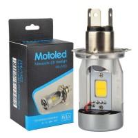 Lampu Motor LED H4 COB 1PCS
