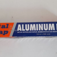 ALUMINIUM FOIL TOTAL WRAP 7,6M X 300MM - PQ20