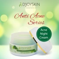 Krim Jerawat / Acne Night Cream Djoyskin - RESMI BPOM