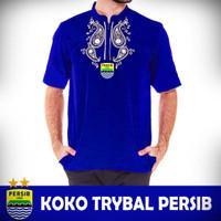 Baju koko trybal / tribal bola Persib Bandung