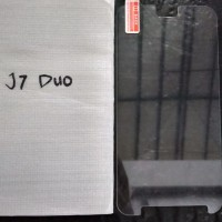 Tempered Glass Samsung J7 Duo NEW !!