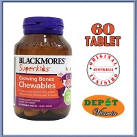 Jual BLACKMORES SUPERKIDS GROWING BONES CHEWABLE - 60 TABLET Murah