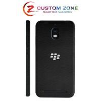 Harga customzone bb aurora 3m skin garskin black leather back side | Pembandingharga.com