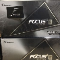 Seasonic Focus Plus PX-650 - 650W Full Modular - 80+ Platinum 10 Tahun