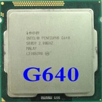 processor dual core G640 2.8Ghz socket 1155 garansi 1 thn