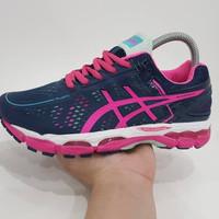 Sepatu Running Murah Asics Gel Kayano 22 Navy Pink size 36-40 219b9fce54