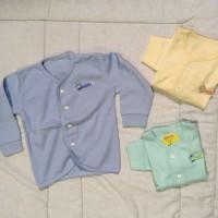 Baju tidur bayi / atasan tidur bayi panjang kancing depan - Velvet