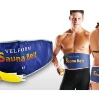 Velform Sauna Belt / Sabuk Pelangsing / Hilangkan Lemak Perut / No Box