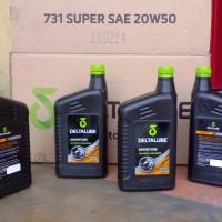 Harga flash sale deltalube 731 super engine oil 20w50 800 cc limited | antitipu.com