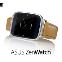 Asus Zenwatch Smartwatch Pake OS Android Wear update Waterproof IP 55.