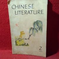 Chinese literature 2