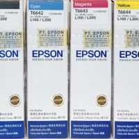 Original Ink Refill Tinta Printer EPSON L100 L120 L200 L210 L300 L500