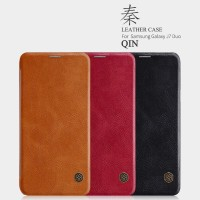 SAMSUNG Galaxy J7 DUO Flip Leather Cover NILLKIN QIN Hard Case