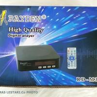 Digital Vidio Player Mp3-MP4-Mp5 USB-MMC To TV Raiden-M3