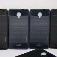 Case Ipaky Carbon Andromax L / Softcase Ipaky Carbon - Hitam