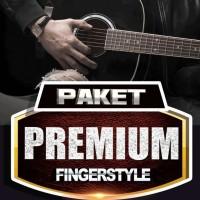 Buku Gitar Paket Premium Fingerstyle Gitar