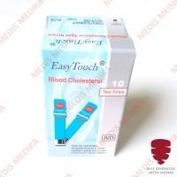 Easytouch Cholestrol Test Strip Kolestrol Refill Isi 10 Easy Touch