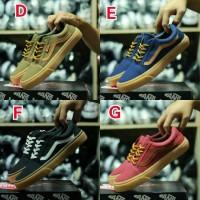RENA- Sepatu Vans OS Low Gum Sneakers Casual SK8 ICC DT IFC Sekolah