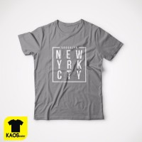 T892 Kaos Tshirt Baju Combed 30S Distro NYC New York City YRK CTY