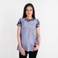 Batik Pria Tampan - Blouse Sunny Prang Bakat Lurik Comb