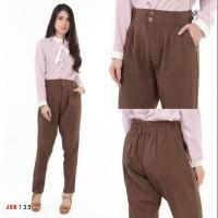 Celana Panjang Bahan Wanita Kantoran Dan Casual Import JSK Jeans