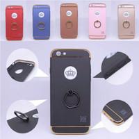 Hard Case + Ring Holder Matte Berkualitas Hp Apple iPhone 7 + Plus