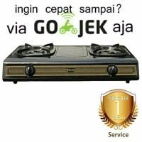 Promo Ramadhan Rinnai Kompor Gas 2 Tungku Teflon Ri 522S