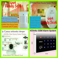 PIR Motion Detector Wireless 433Mhz Home Security System