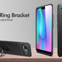 Case I ring Honor 9 Lite Auto Focus Soft Back Case Cover Stand Grip