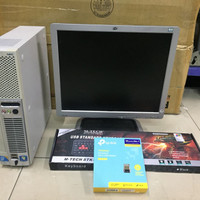 Paket Komputer Second - PC Desktop NEC Core i5 RAM 4GB - LCD 17inch