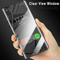 A83 FLIP COVER Oppo Auto Lock Smart Case Clear View Window Stand Hp