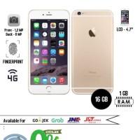 Iphone 6/16 gold garansi 1 th PLATINUM