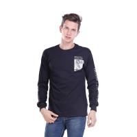 Kaos Distro Pria T-shirt Male Map - H 0108
