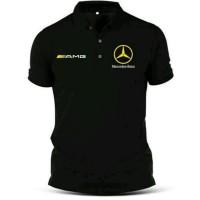 Kaos Polo Pria kekinian - Baju Mercedes Benz Besar XXL(2XL) XXXL