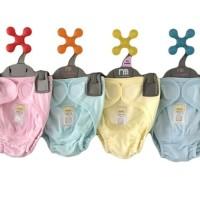 Harga popok kain instan modern bayi anak dg perekat fluffy 3pc warna | Hargalu.com