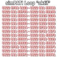 Jual Nomor Cantik Simpati Kartu Perdana Telkomsel Murah Rapih Murah