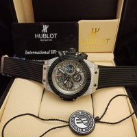 Jam tangan pria hublot baterai kw super grade aaa