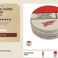 Red Wing 97104 All Natural Leather CONDITIONER - TERBATAS